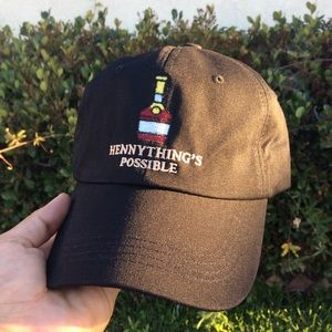 f4729c9e5b263 Other - Hennything is possible Dad Hat NWT